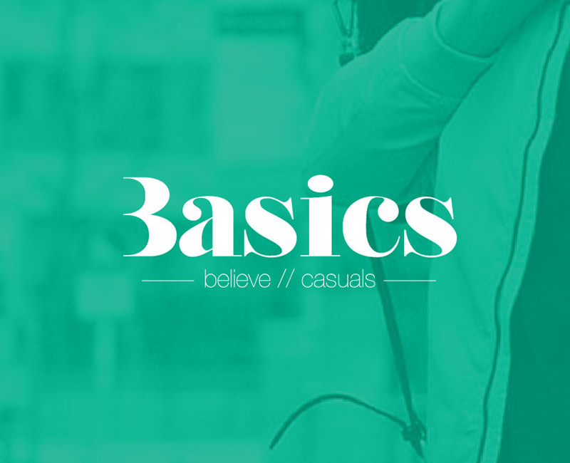 basics casuals branding